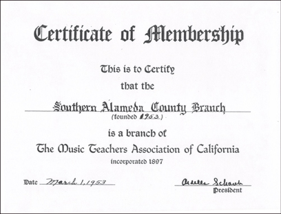 certificatemembership