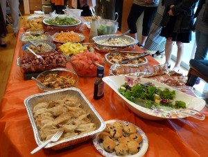 Musical Potluck Party 2015