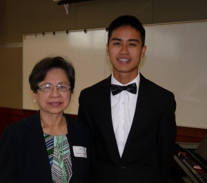 Photo Album 2015 Senior Scholarship Recital No.1